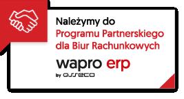 Programu Partnerskiego WAPRO ERP dla Biur Rachunkowych